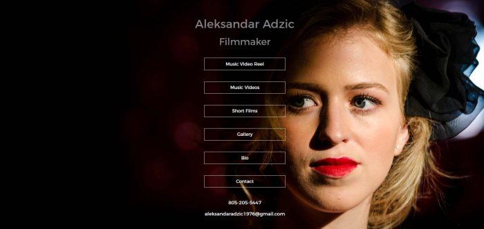 Aleksandar Adzic: Filmmaker