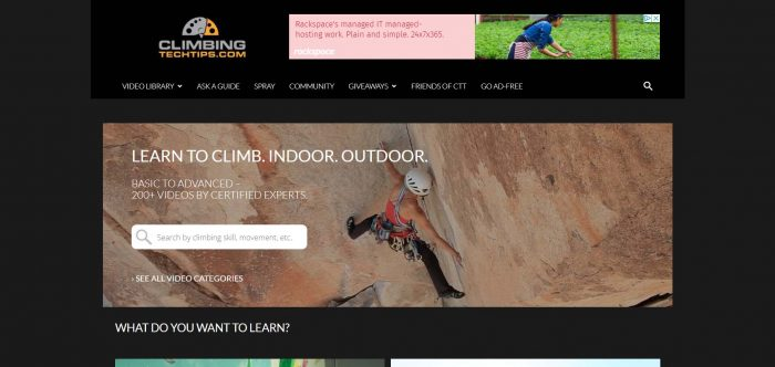 Climbing Tech Tips