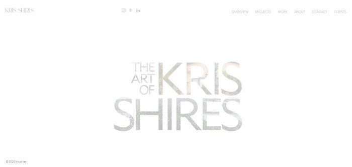 Kris Shires: Photographer